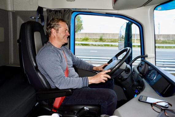 Truck driver Hartman Expeditie